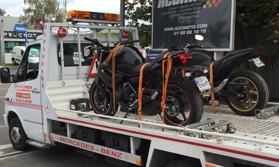 dépannage moto paris